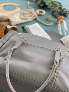 The Adapt Nappy Bag - Grey