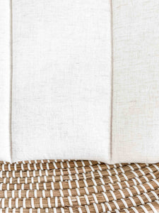 Change Mat - Summer Abstract/Natural Linen