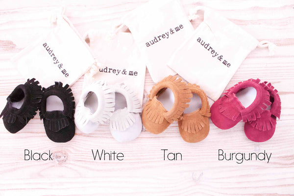 Baby Moccasin Gift Box - Neutral - Audrey & Me  - 2