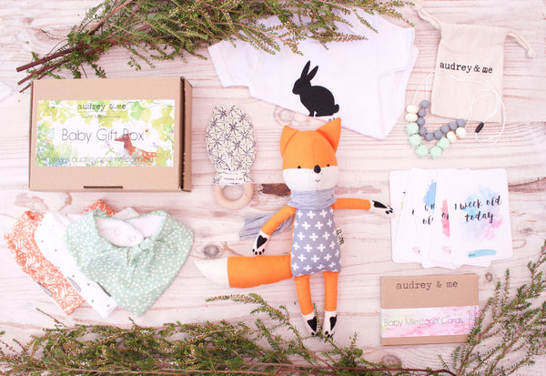 Baby Woodland Gift Box - Neutral - Audrey & Me  - 1