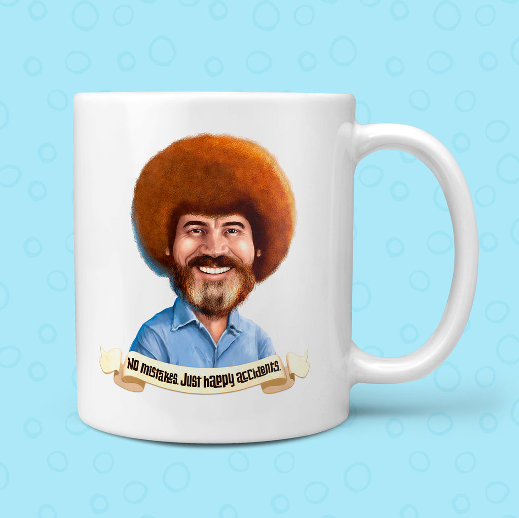 Bob Ross - Always Sleep Better Mug