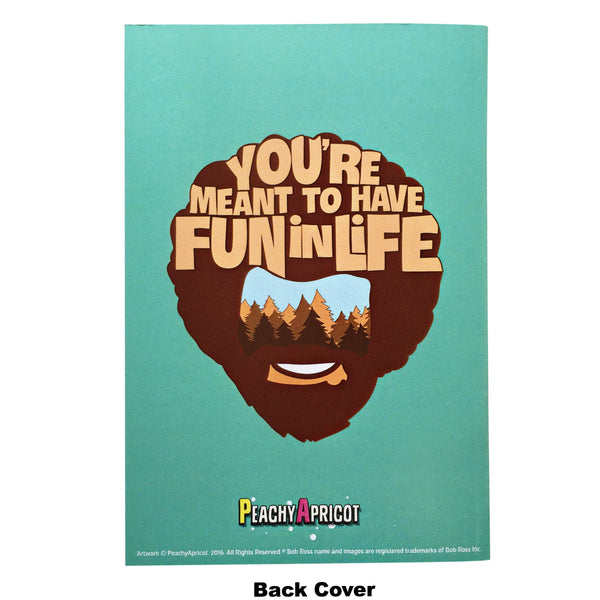 Bob Ross Set Of Notebooks