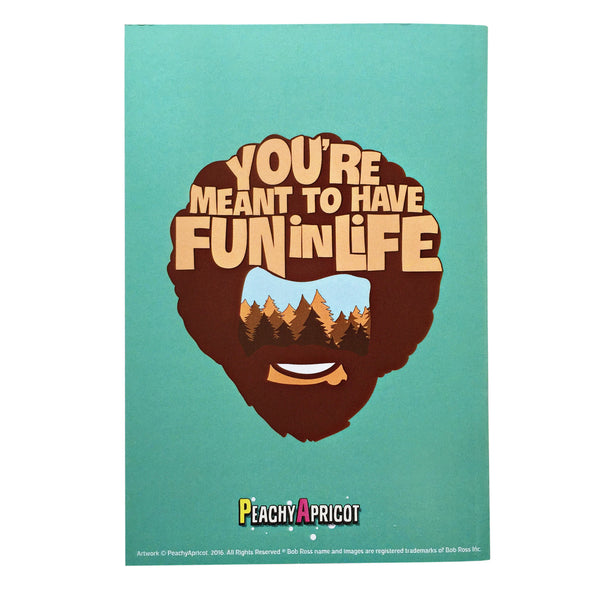 Bob Ross Happy Accidents Notebook