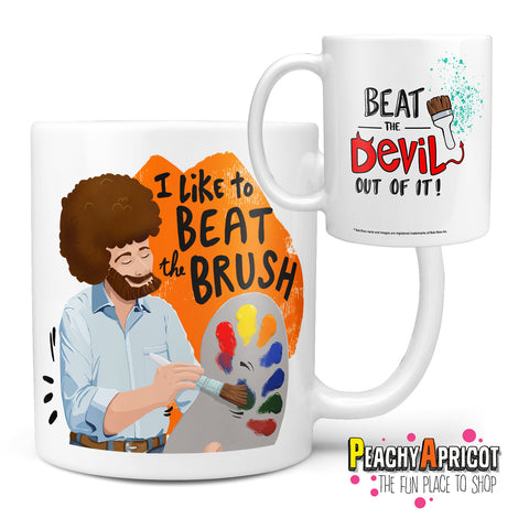 Bob Ross - Beat the Devil Mug