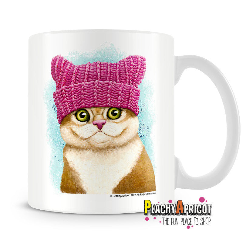Cat Mug - I Do What I Want - PeachyApricot