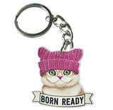 Born Ready Keychain