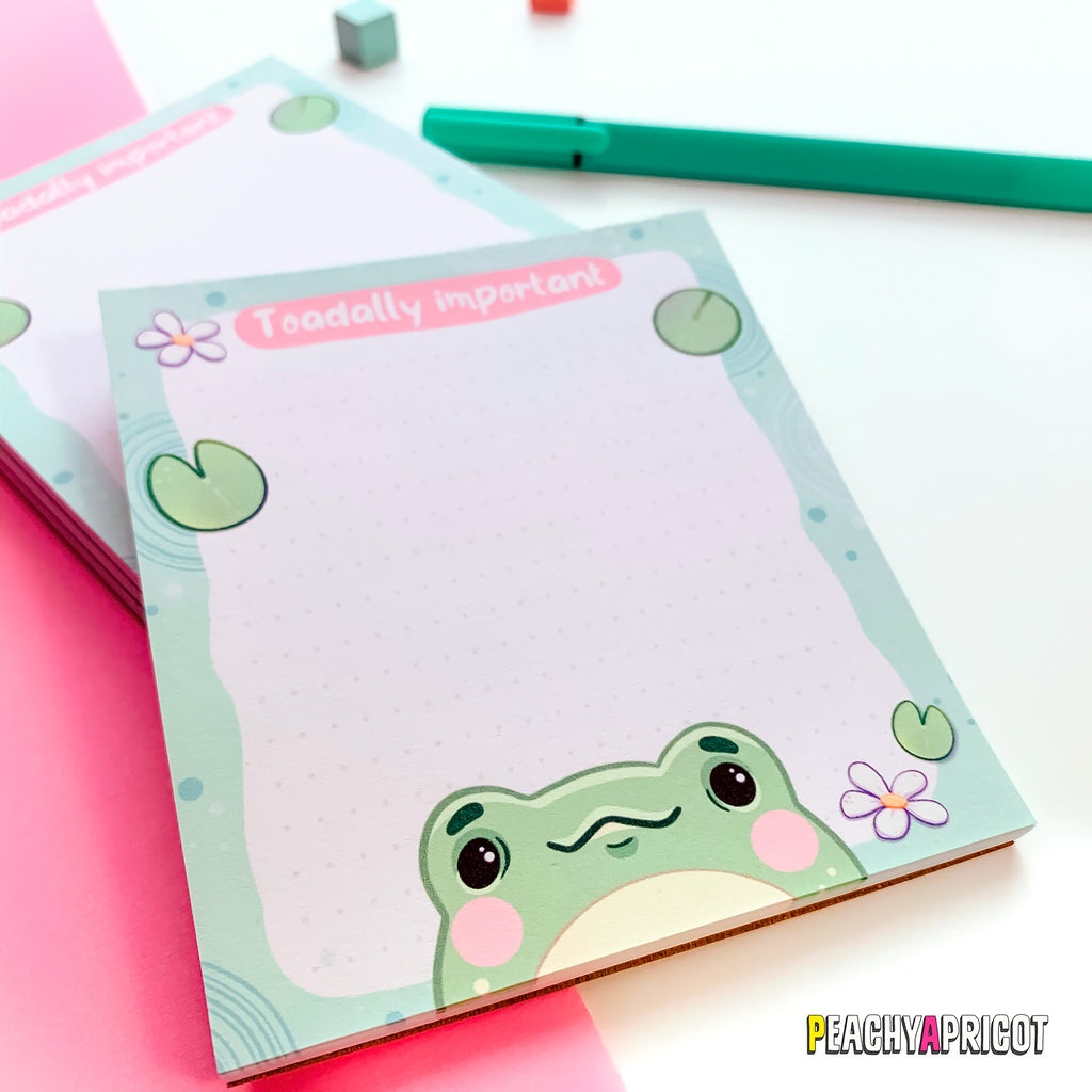 Cute Frog Notepad