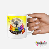 Otterly Gay mug - PeachyApricot