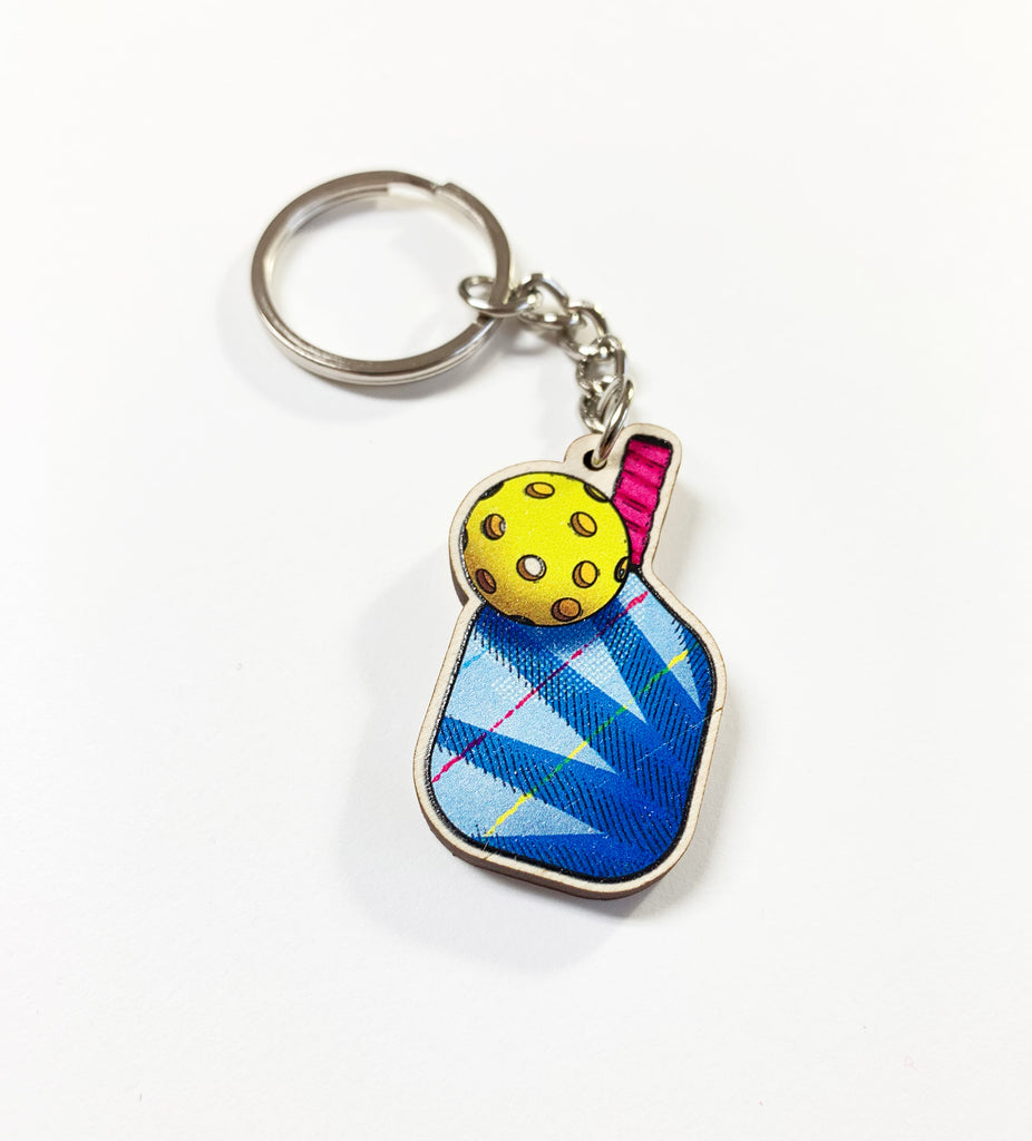 Pickleball Keychain - PeachyApricot