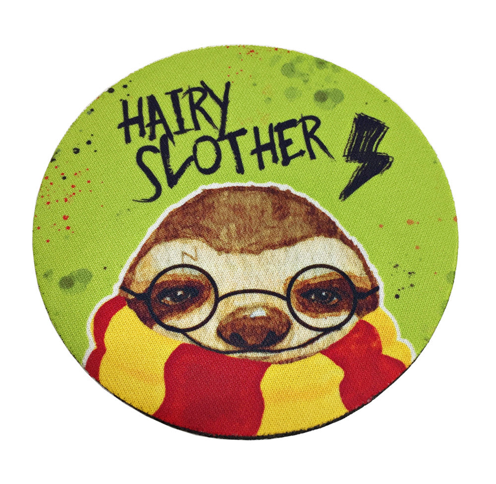 Hairy Slother Coaster Set - PeachyApricot