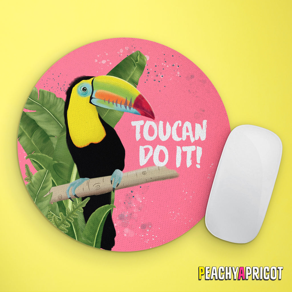 Toucan Do It Mouse Pad