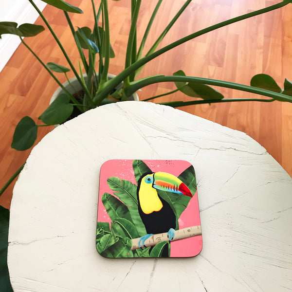 Toucan coasters