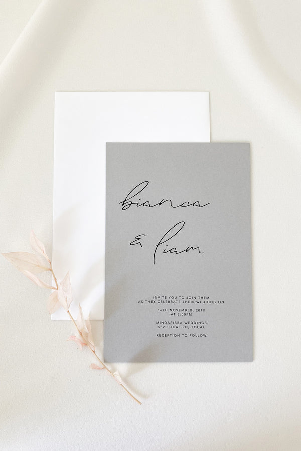 Bianca Invitation Suite