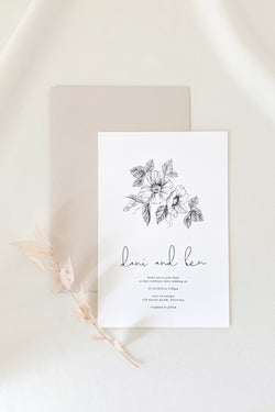 Dani Invitation Suite