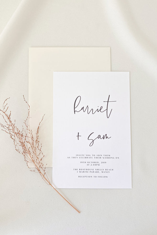 Harriet Invitation Suite
