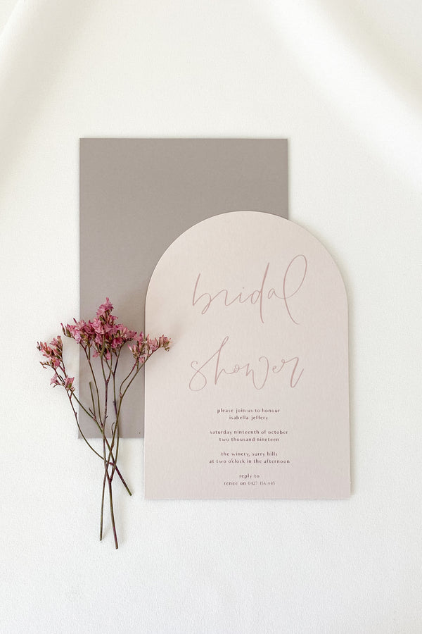 Isabella Bridal Shower Invitation