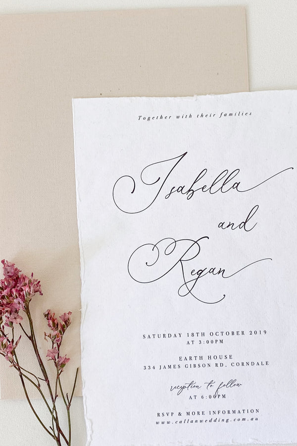 Isabella Invitation Suite
