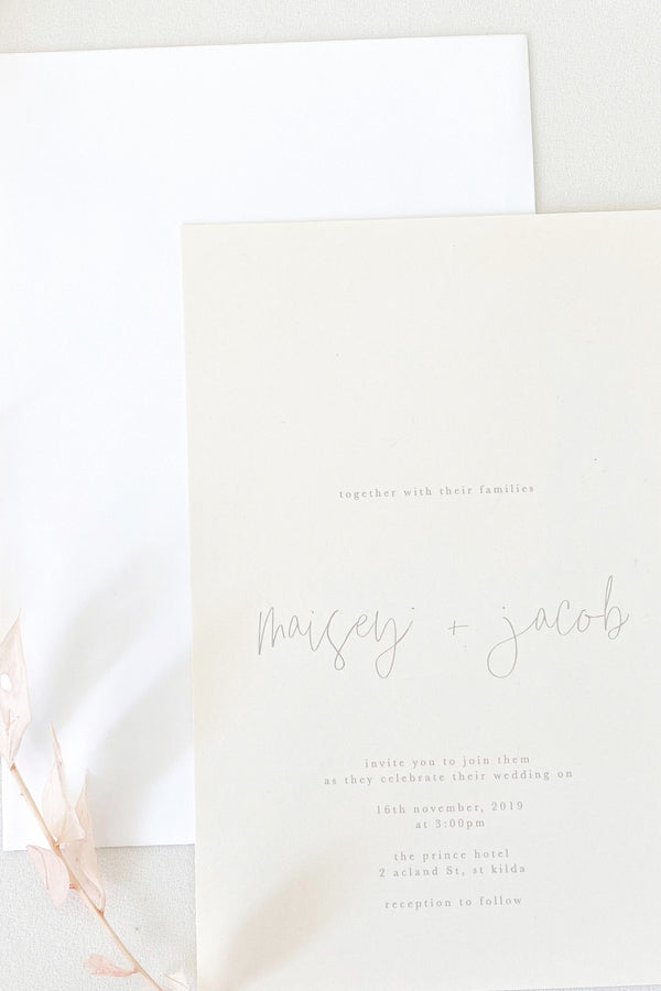 Maisey Invitation Suite