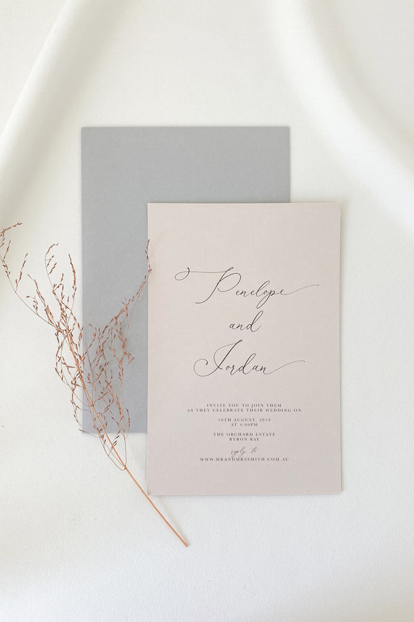 Penelope Invitation Suite