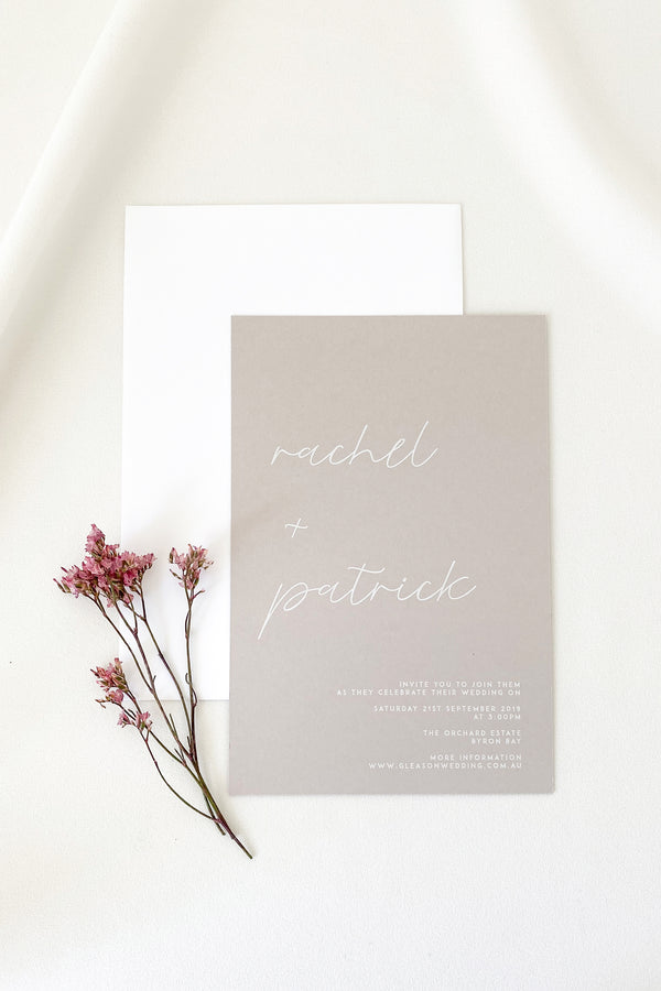 Rachel Invitation Suite