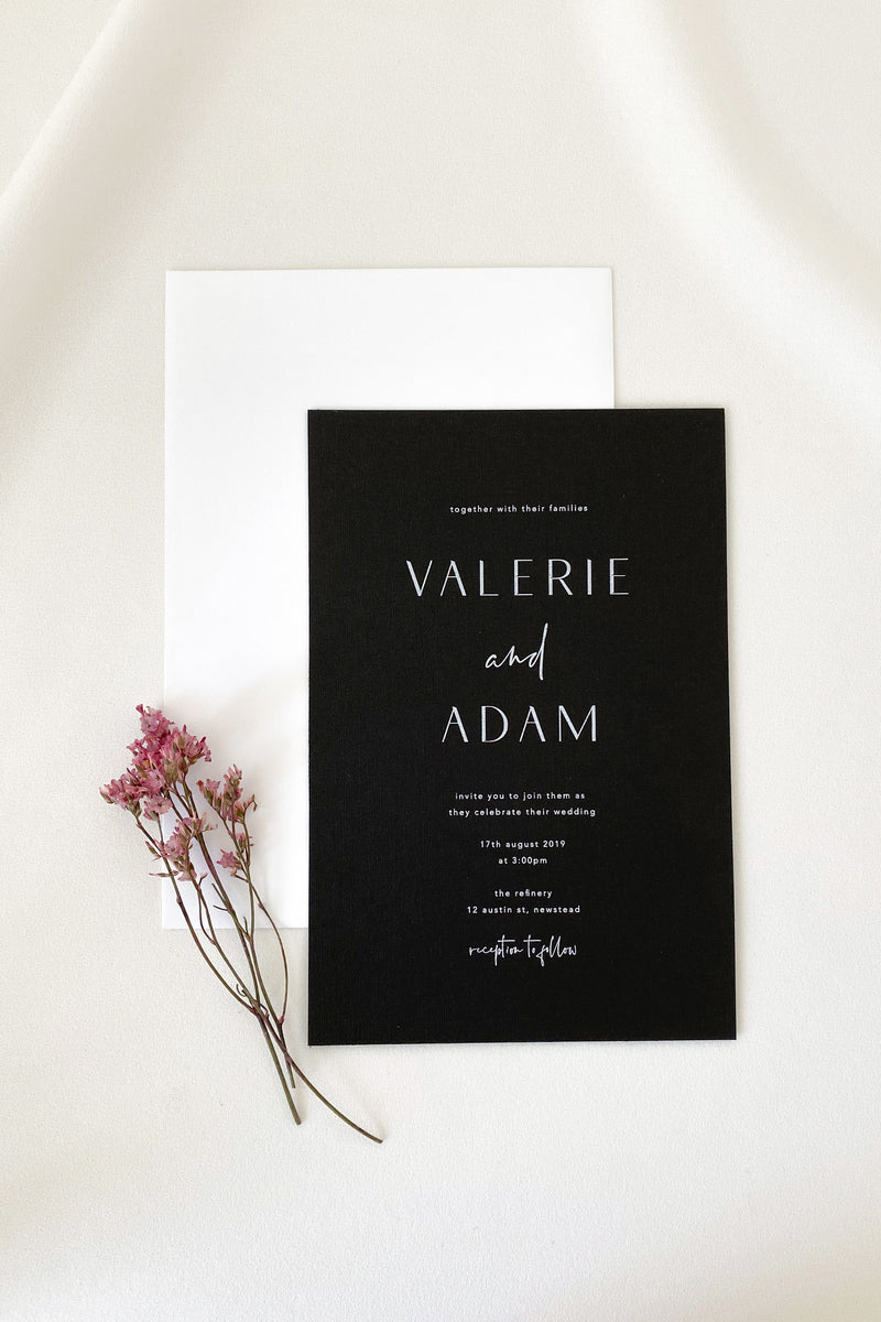 Valerie Invitation Suite