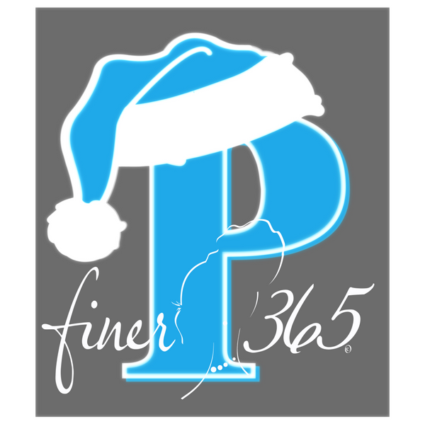"Zeta and Auxiliary Groups Santa Letters - ""P"" Finer365 Holiday Paint Party Starter Canvas (3 sizes)"