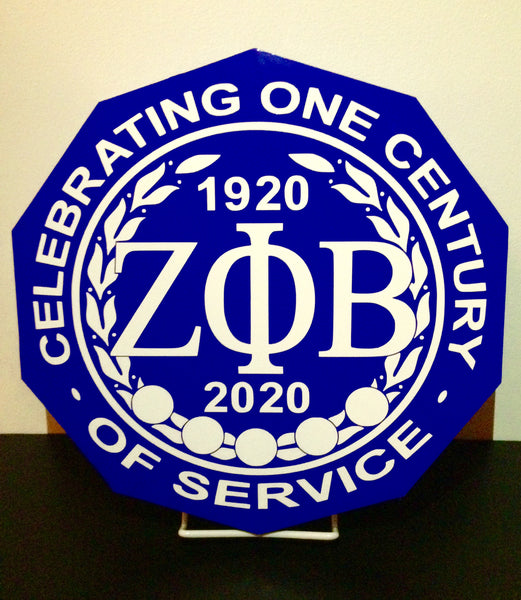 Official Zeta Phi Beta Sorority, Inc. Centennial Seal