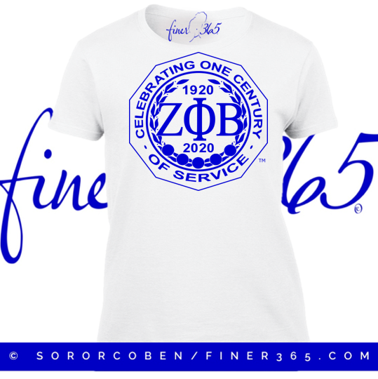 Black Friday - Centennial Closeout - 2020 Seal Unisex Tee - White