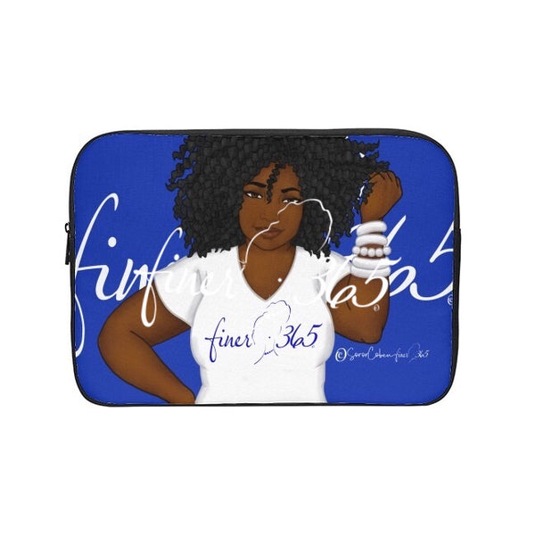 Finer365 White Tee Tablet/Laptop Sleeve
