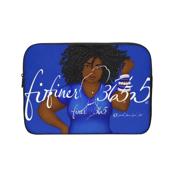 Finer365 Blue Tee Tablet/Laptop Sleeve
