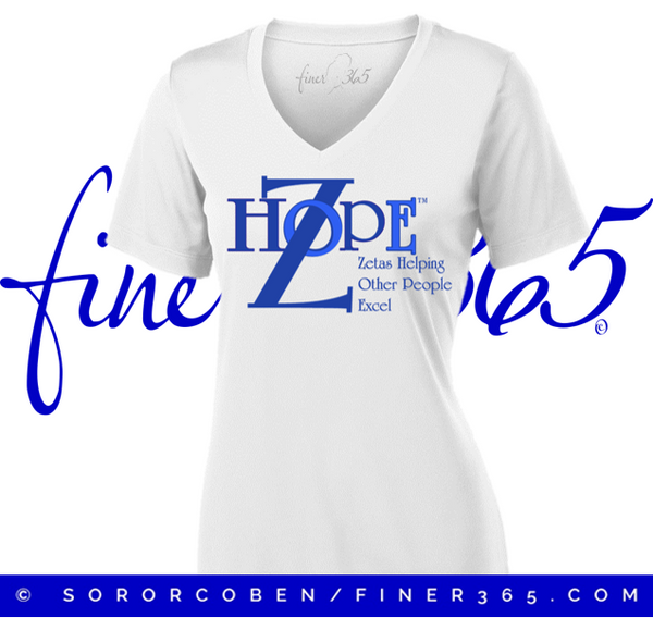National Zhope  - V-neck Tee