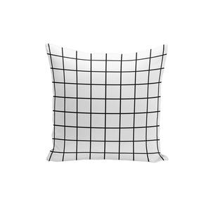 Classic Grid Pillow Cover