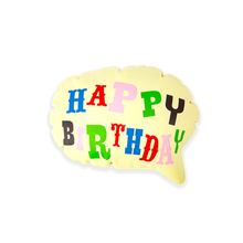 Load image into Gallery viewer, Happy Birthday Pop Up Balloon