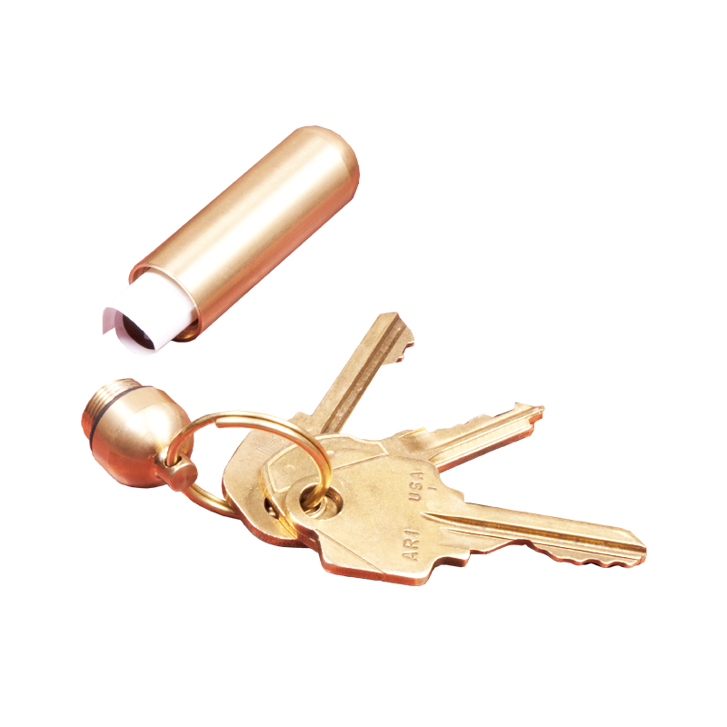 Brass Carry Keyrings