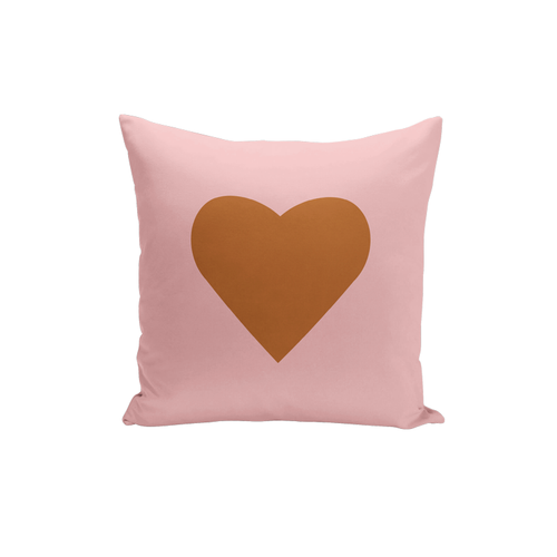 Simple Heart Pillow