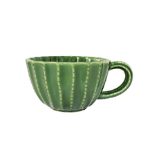 Load image into Gallery viewer, Barrel Cactus Ceramic Cup