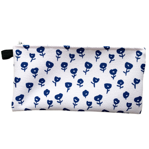Blue Poppies Pencil Case