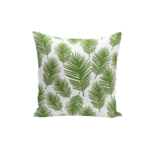 Palm Leaf Pillow Cover
