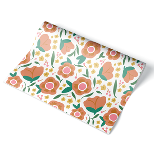 Field of Flowers Wrapping Paper Sheet