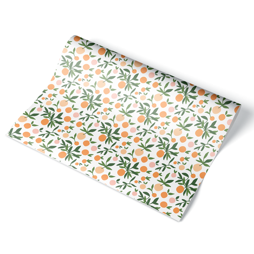 Oranges Wrapping Paper Sheet