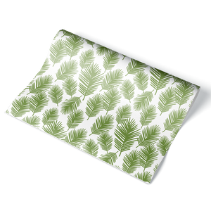 Palm Leaf Wrapping Paper Sheet