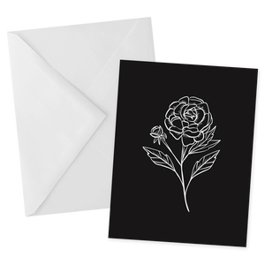 Rose Notecard