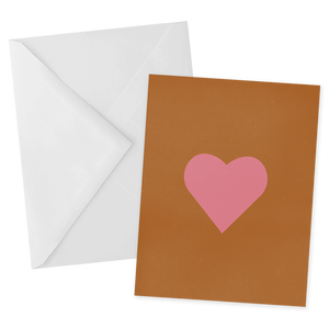 Simple Heart Notecard