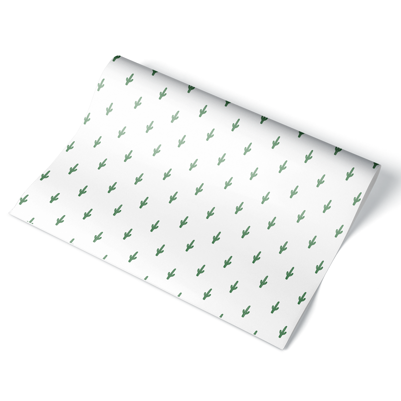 Small Seguaro Wrapping Paper Sheet