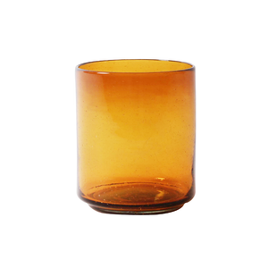 Light Amber Glass Bowl