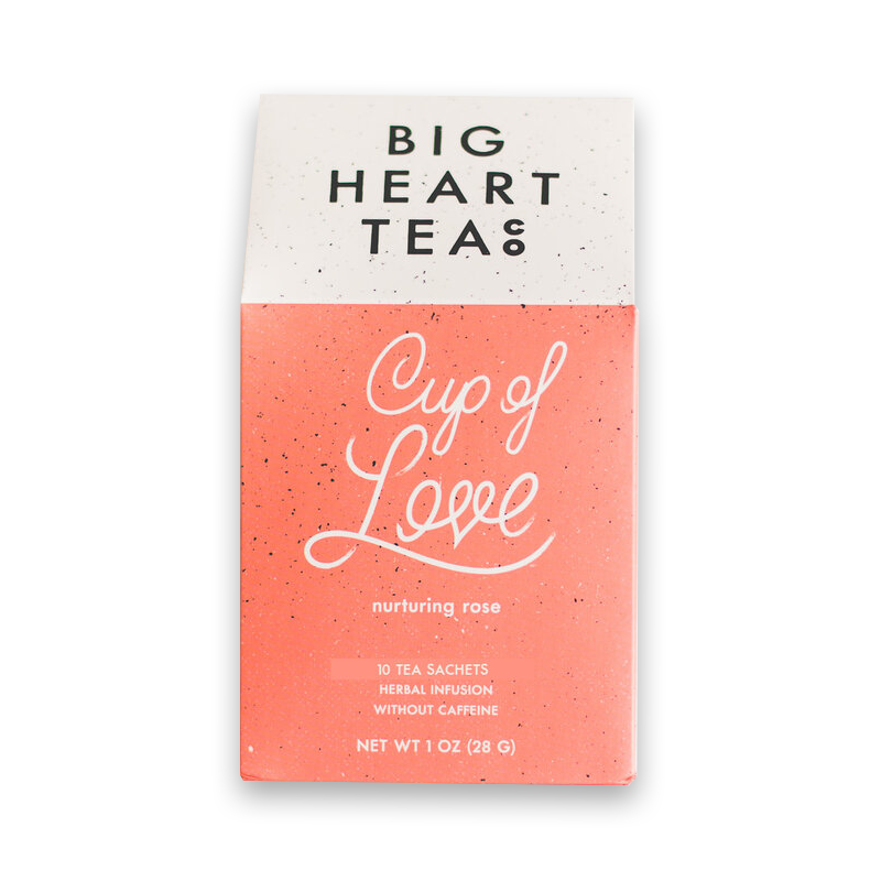 Big Heart Cup of Love Tea