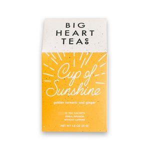Big Heart Cup of Sunshine Tea