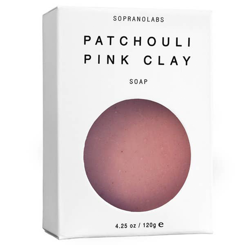 Patchouli Pink Clay Soap