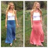 Pin Stripe Maxi Skirt