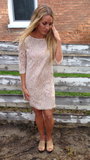 Lace Tunic Dress